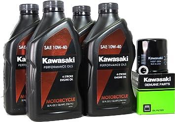 2006 Kawasaki NINJA ZX-10R Oil Change Kit