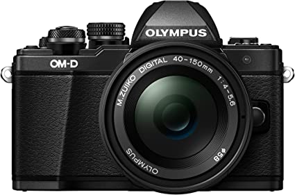 Olympus E M10 Mark Ii 16 1 Mp Evil Kamera Schwarz Kamera