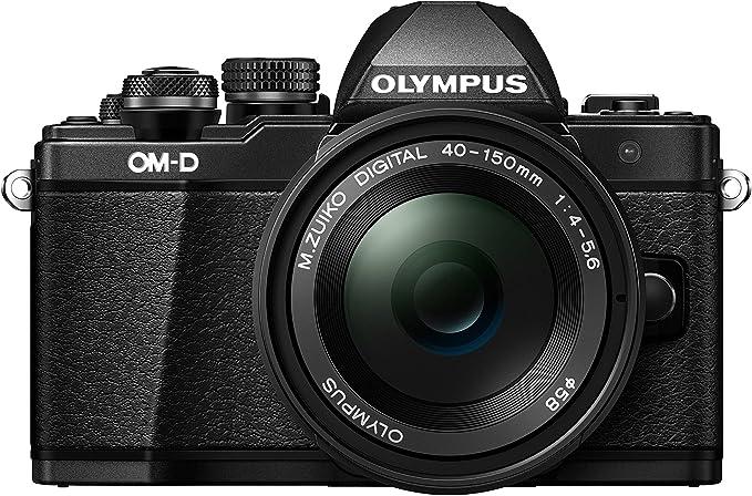 Olympus E M10 Mark Ii 16 1 Mp Evil Camera Black Camera Photo