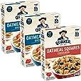Quaker Oatmeal Squares Breakfast Cereal, Brown Sugar & Cinnamon Variety Pack (3 Pack)