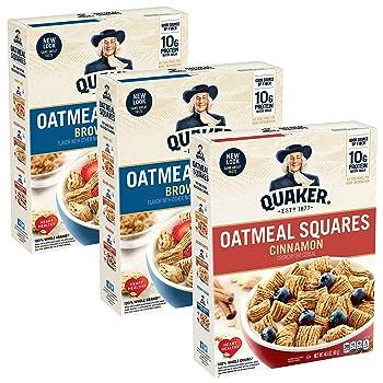 Quaker Squares Instant Oatmeal
