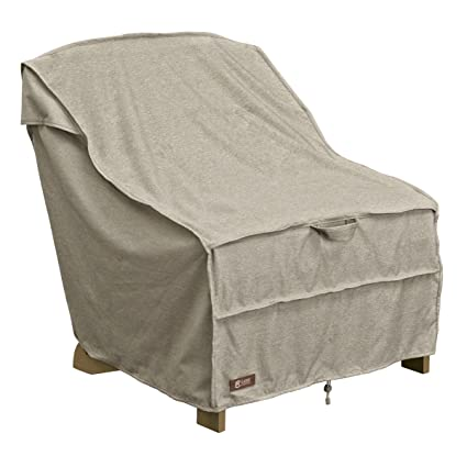 Classic Accessories Montlake FadeSafe Adirondack Patio Chair Cover   Heavy  Duty Outdoor Furniture Cover With Waterproof