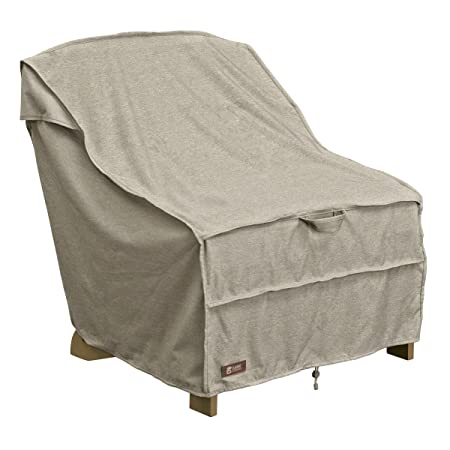 Heavy Duty Outdoor Furniture Cover with Waterproof Backing