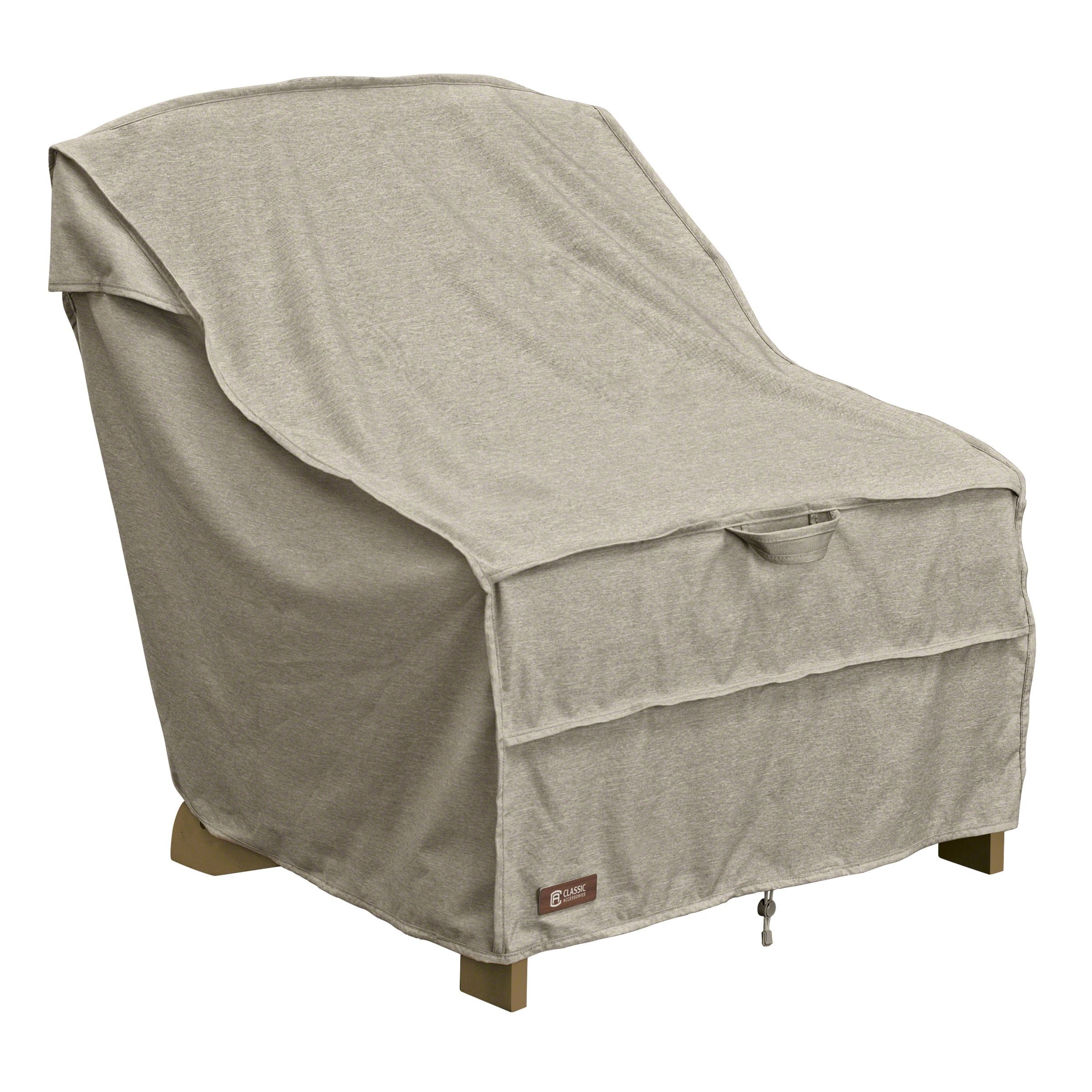 Classic Accessories Montlake FadeSafe Adirondack Patio Chair Cover - Heavy Duty Outdoor Furniture Cover with Waterproof Backing (55-671-016701-RT)