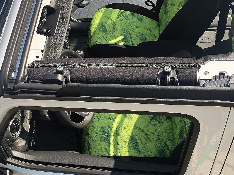 Black Koverz Jeep Wrangler Roll Bar Cover Padding JL Unlimited 4-Door Neoprene JL JLU 2018-Present