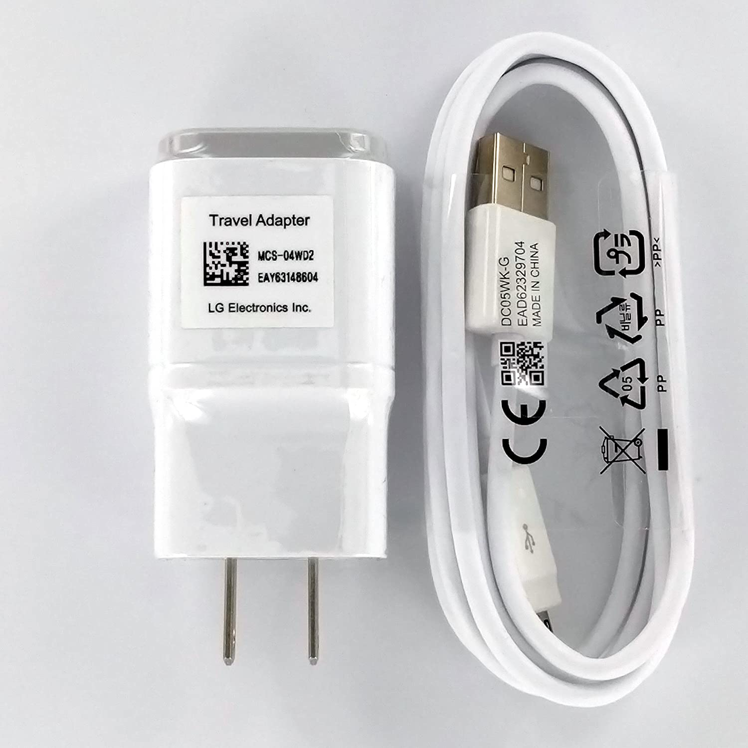 Oem Lg 18 Charger Mcs 04wd With 20 5ft Micro Usb For Max9730 24w Class G Power Amplifier G2 Google Nexus Flax L9 F3 Cell Phones Accessories