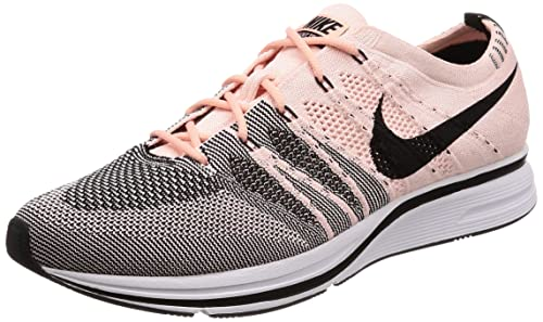 quality design 353a3 a7a2d Nike Men s Flyknit Trainer, Sunset Tint Black - White, 8.5 M US