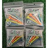 Martini Golf Tees - Step Up - Multi Color - 4 Packs - 11919