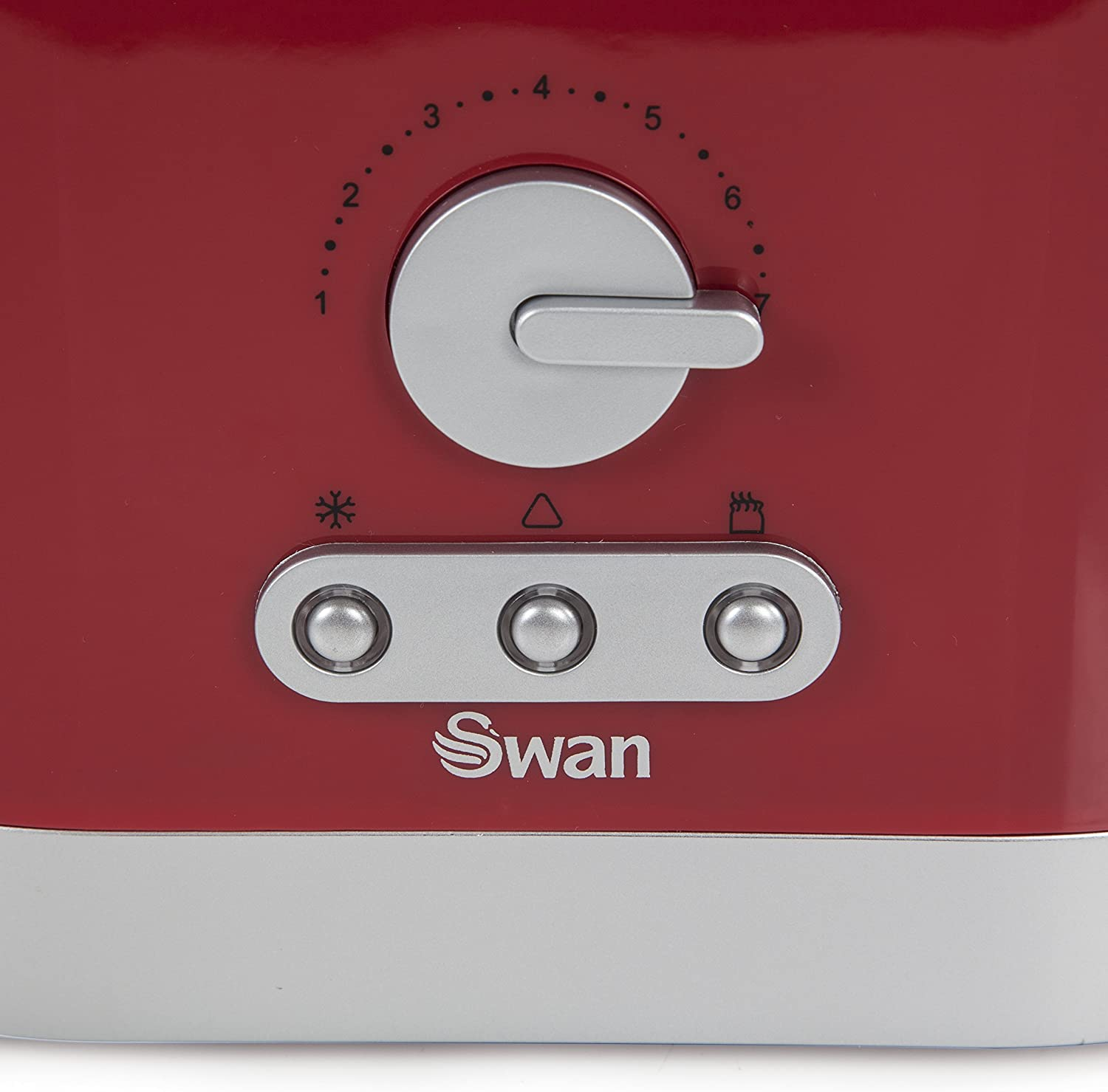 Swan 2-Slice Toaster - Red