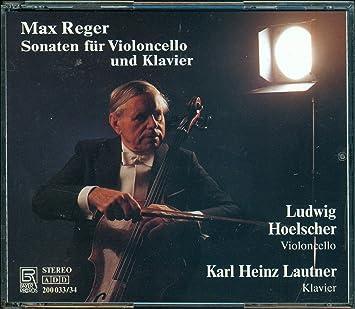 Reger, Ludwig Hoelscher, Karl Heinz Lautner - Sonatas for Cello & Piano -  Amazon.com Music