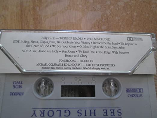 Billy Funk Hosanna Music Praise Worship See His Glory Amazon Com