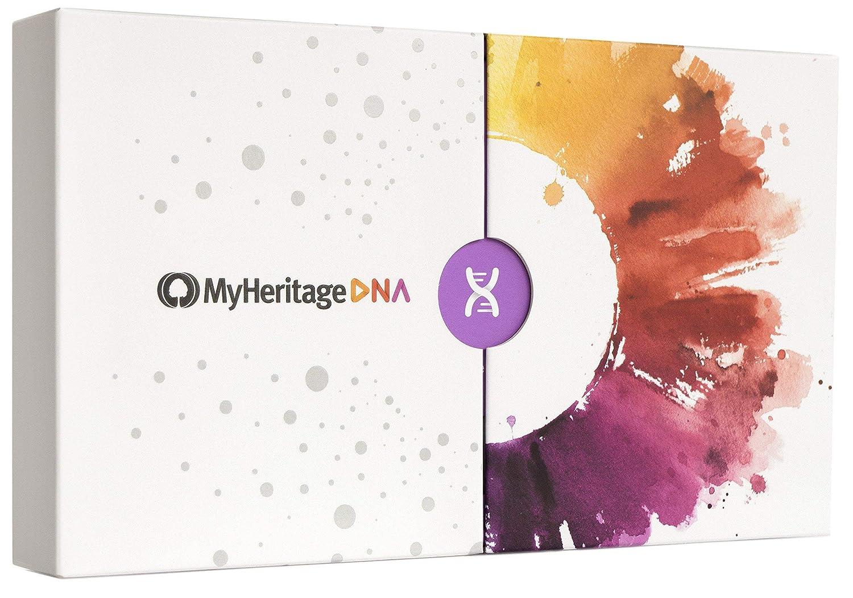Kit de pruebas de ascendencia de MyHeritage DNA – Pruebas genéticas de ADN para descubrir orígenes étnicos y encontrar familiares