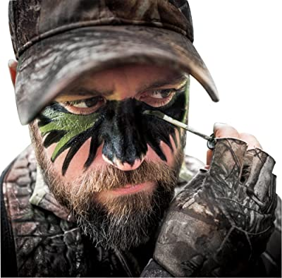 Hardy Facepaint 3 Color Camo Bundle: Black, Brown and Green