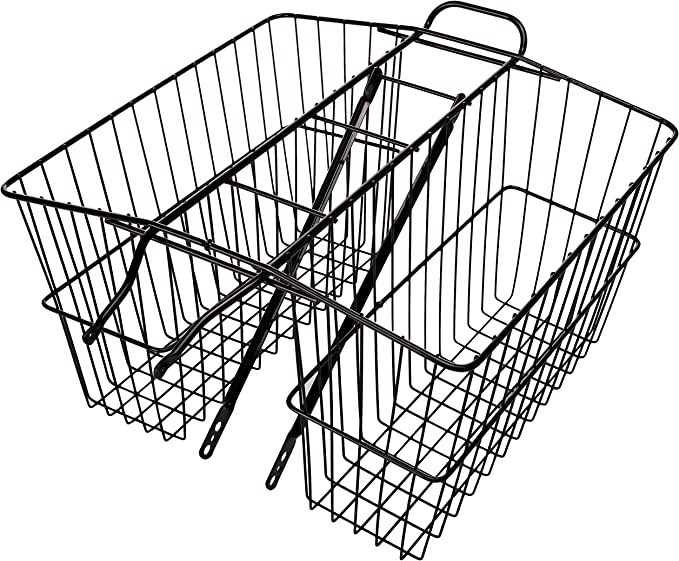 Wald 535 Rear Twin Carrier Basket LG Plated