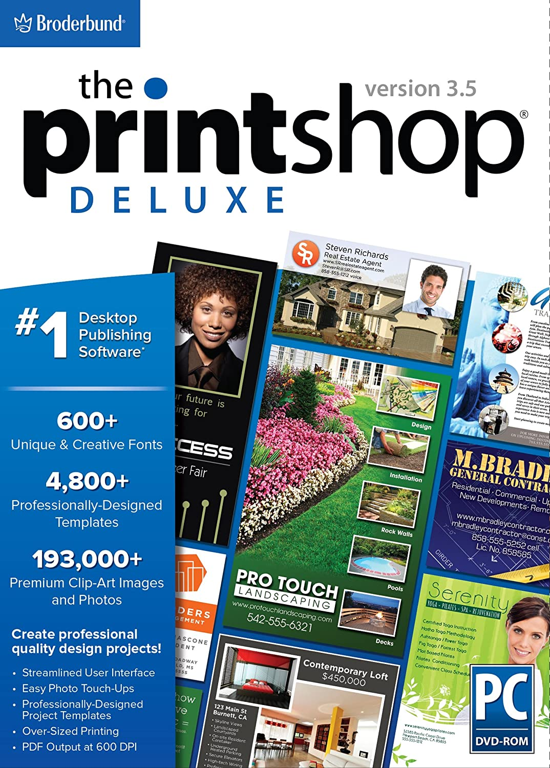 The Print Shop Deluxe 3.5