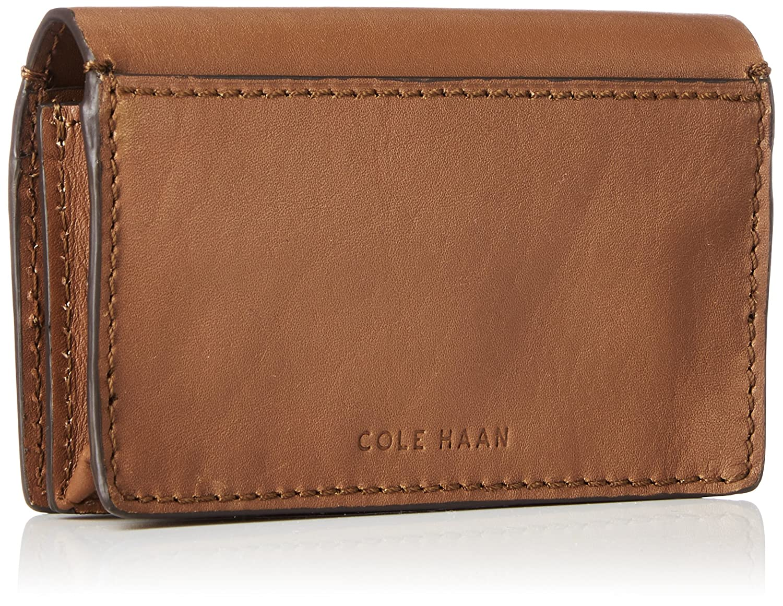 Cole Haan Men\'s Washington Grand Business Card Case Wallet, Black ...
