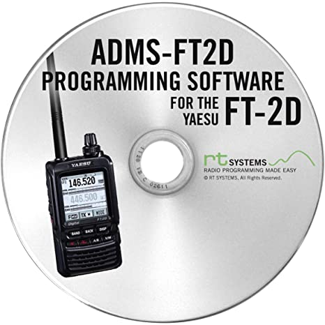 RT Systems Programming Software for Yaesu FT-2DR