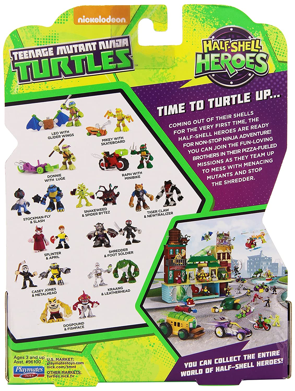 Amazon.com: Teenage Mutant Ninja Turtles Stockman-Fly y ...