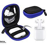 Travel Case for Airpods Case; Otium Bluetooth Headphones; Powerbeats3 Wireless in-Ear; Sennheiser CX 685, OCX 685i, PMX…