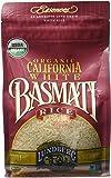 Lundberg Organic Basmati Rice, California White, 32 Ounce (Pack of 6)