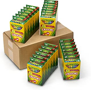 product image for Crayola Crayons Bulk, 24 Crayon Packs with 24 Assorted Colors
