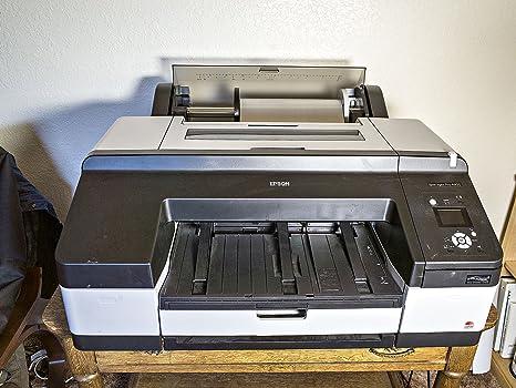 Epson Stylus Pro 4900 - Impresora de Tinta (2880 x 1440 dpi, Cian, Verde, Cian Claro, Negro Mate, Naranja, Foto Negro, Amarillo, 256 MB, 256 MB, 250 Hojas, 250 Hojas ...