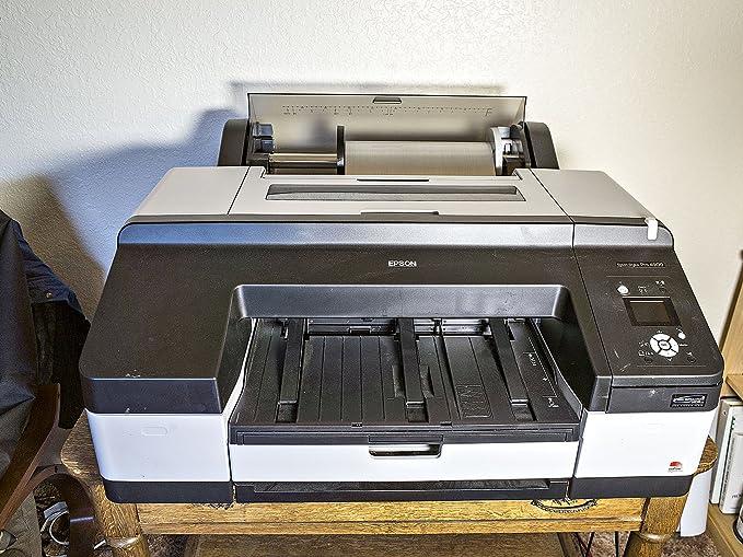 Epson Stylus Pro 4900 - Impresora de Tinta (2880 x 1440 dpi, Cian, Verde, Cian Claro, Negro Mate, Naranja, Foto Negro, Amarillo, 256 MB, 256 MB, 250 Hojas, 250 Hojas) Si: Amazon.es: Informática
