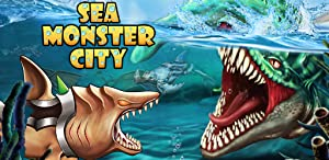 Sea Monster City by ITIW