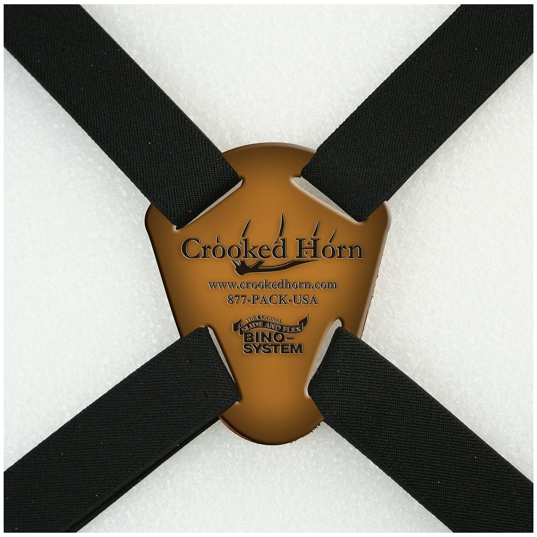 Crooked Horn Outfitters Original Slide N Flex Bino System , Black