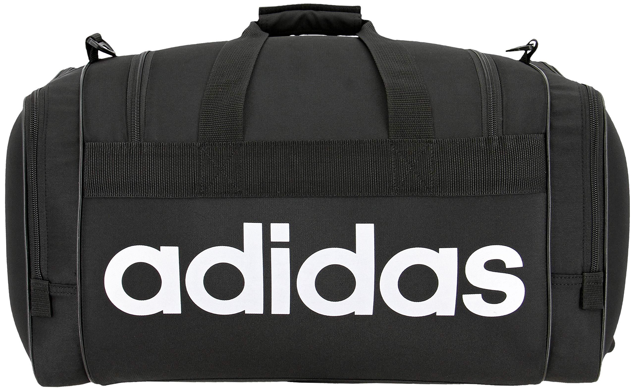 adidas Unisex Santiago Duffel Bag, Black/White, ONE SIZE by adidas