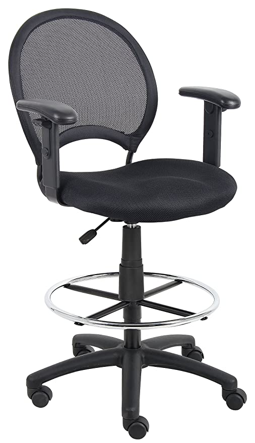 Groovy Amazon Com Boss Office Products Mesh Drafting Stool With Ibusinesslaw Wood Chair Design Ideas Ibusinesslaworg