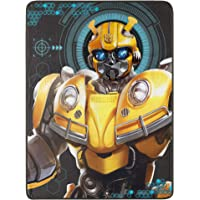 "Hasbro's Transformers, ""Be Alert"" Micro Raschel Throw Blanket, 46"" x 60"", Multi Color"