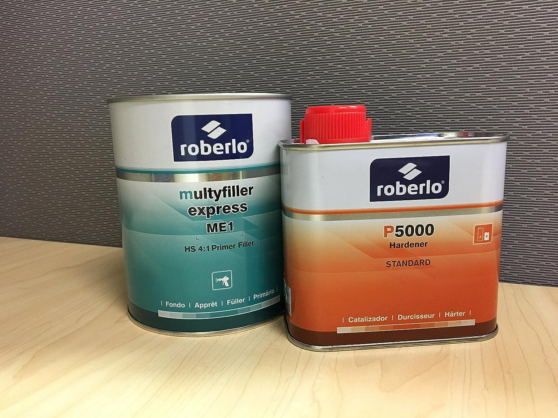 ROBERLO Multifiller Express 4:1 Primer Filler Quart with Hardener