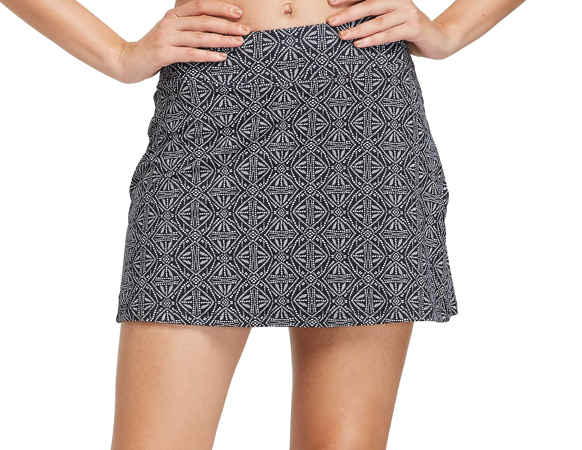 Cityoung Women's Casual Pleated Golf Skirt with Underneath Shorts Running Skorts xs p_hzz Black Pearl by Cityoung