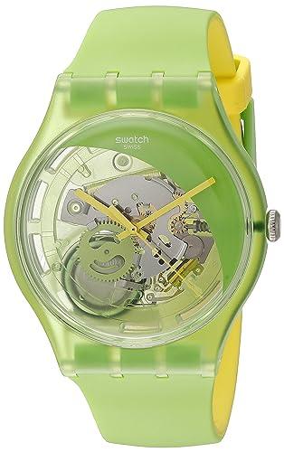 Swatch Hombre suog110 analógico Pantalla Cuarzo Verde Reloj: Swatch: Amazon.es: Relojes