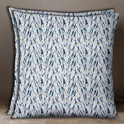 S4Sassy Home Decor 2 piezas Funda de cojin Indigo azul ...