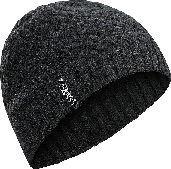 07a54612ccb Amazon.com  Arc teryx Waffle Toque (Black)  Clothing