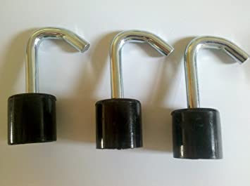 pack of 3 camping accesories 25mm awning hooks