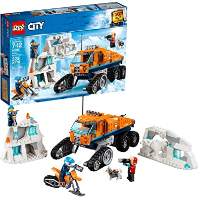 LEGO City Arctic Scout Truck 60194 Building Kit (322 Pieces): Toys & Games