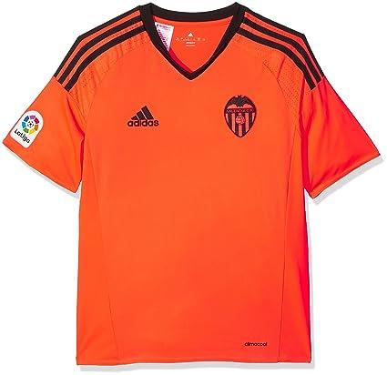 Adidas 3ª Equipación Valencia CF Camiseta, Niños, Naranja (Narsol), 7-