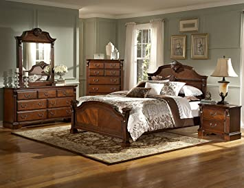 mousasgallery set luxe chambre bois massif style antique baroque lauscha louis