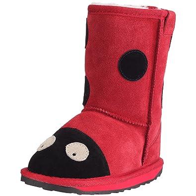 fa308258eb255b EMU Mädchen LC Ladybird Schneestiefel Rot (Red) 28 EU  Amazon.de  Schuhe    Handtaschen