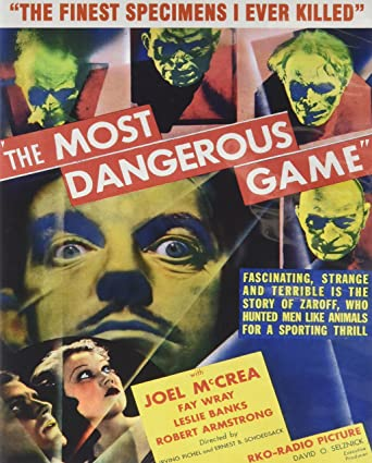 the dangerous game by richard connell