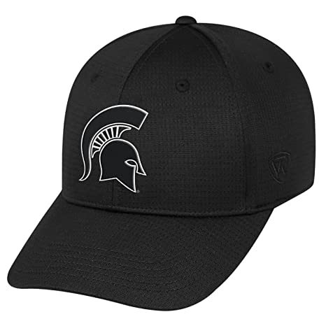 more photos 94587 a92aa Image Unavailable. Image not available for. Color  Top of the World  Michigan State Spartans Official NCAA One Fit Parallax Hat 088990