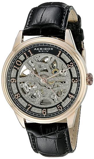 562730180a24 Akribos XXIV Reloj automático Man AK807RG 41 mm  Amazon.es  Relojes
