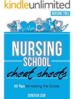 Nursing Student Book Collection (Cheat Sheets, NCLEX