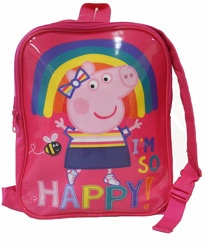 Sac à dos Peppa Pig réversible Sac à dos pour enfants, 31 cm, 6 litres, rose (rose) PEPPA001420
