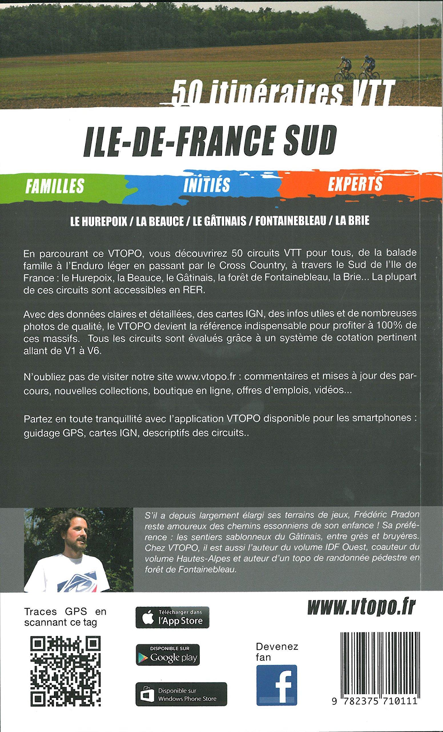 Ile-de-France Sud : 50 parcours VTT (VTOPO VTT): Amazon.es: Vtopo ...