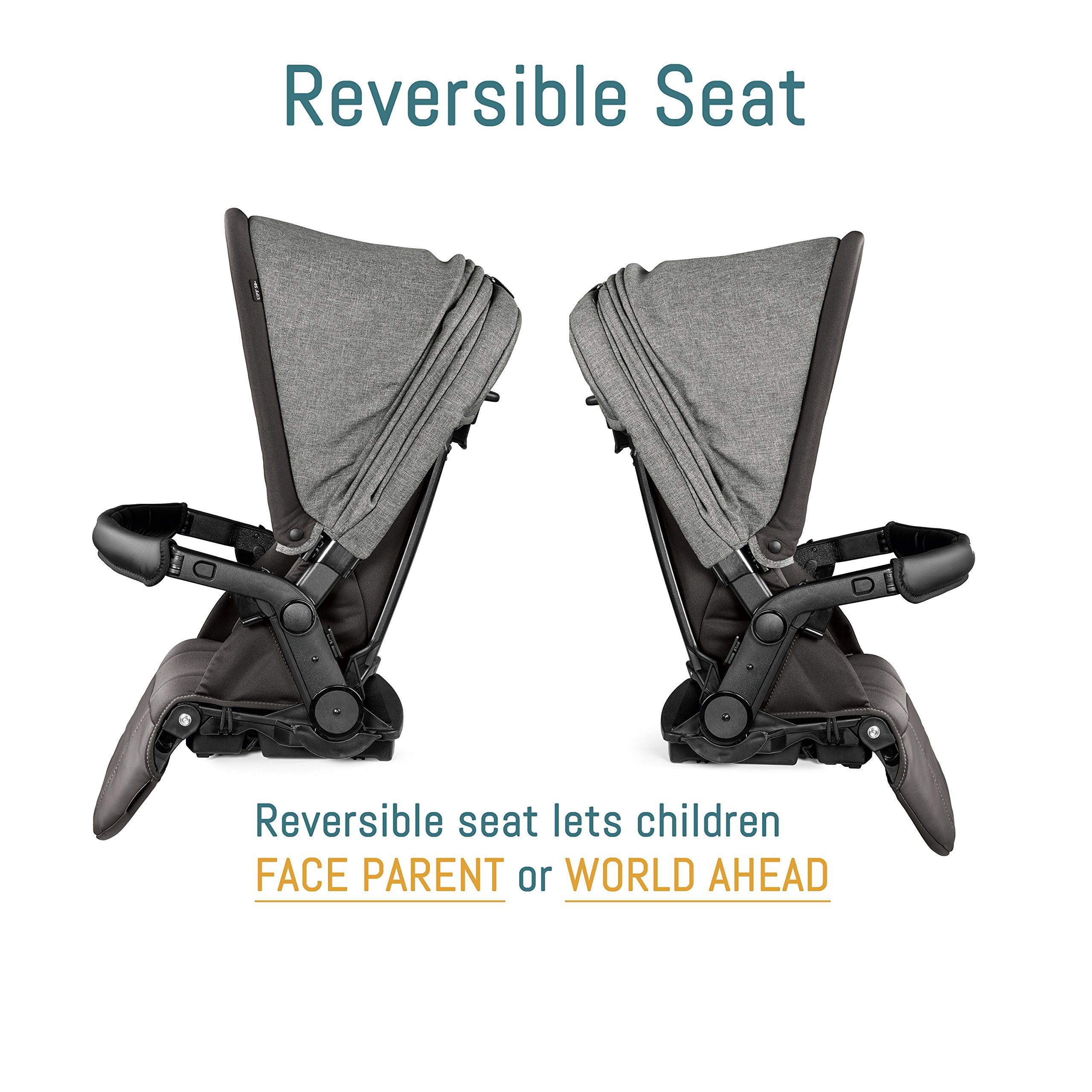 Peg Perego Pop-Up Seat for Team, Duette and Triplette Strollers, Atmosphere by Peg Perego (Image #2)