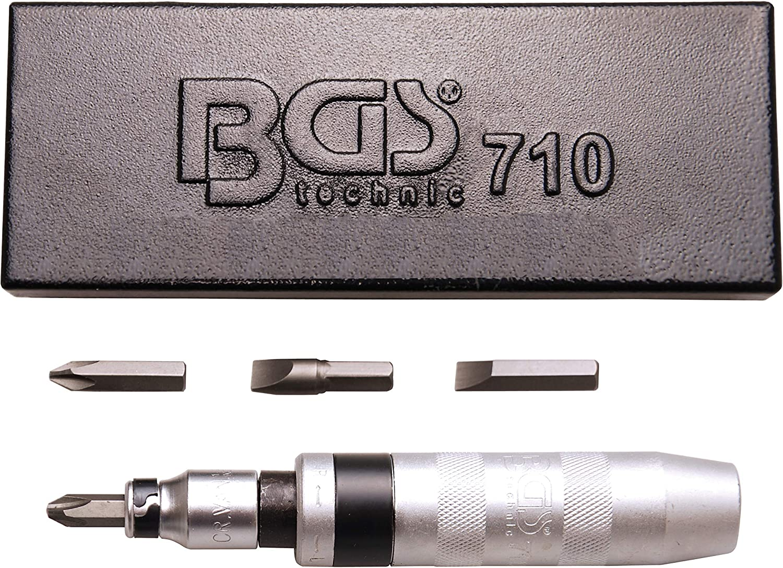 BGS 710 | Juego de destornilladores manuales de impacto con puntas | 5 piezas